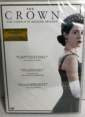 Crown: Season 2 DVD New Sealed The Complete Second Series