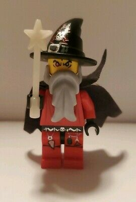 Lego Castle Evil WIZARD Minifigure New Minifig from Set 7093 minfig