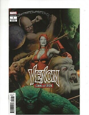 Venom Annual #1 (2019) John Tyler Christopher Variant Cover (VF+) condition