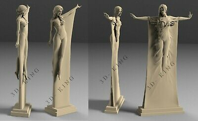 STL 3D Models # TWO FLYING WOMEN # for CNC 3D Printer Engraver Carving ASPIRE