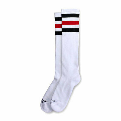 American Socks Teenage Anarchist Knee High Socks White - 19 Inch