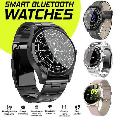 NEW HD Display Bluetooth Smart Watch Blood Pressure Men Women For Android phone