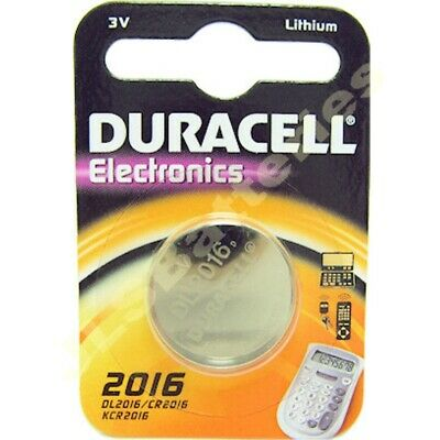 Genuine Duracell 2016 DL2016 CR2016 Coin Cell Battery