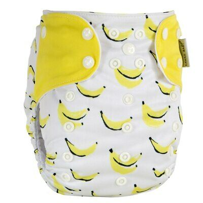 KaWaii Printed Snap Baby Cloth Diaper One Size Adjustable Reusable Leakproof