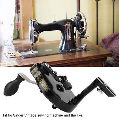 For Singer Vintage Metal Sewing Machine Hand Crank Handcrank Handle Accessories