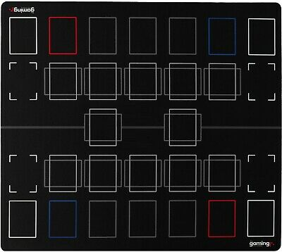 GMC Deluxe 2 Player Compatible Yugioh Master Mat Board Playmat Board