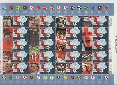 GB 2002 Smilers Football World Cup SGLS8 sheet stamps unmounted mint MNH superb