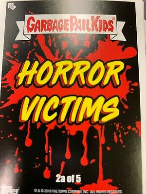 2019 Garbage Pail Kids Revenge Of Oh The Horror-Ible Horror Victims Set Wrapper