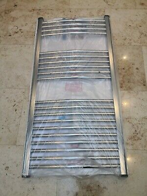 Eastbrook Wingrave curved 89.0392 radiator towel rail 600x1200 chrome