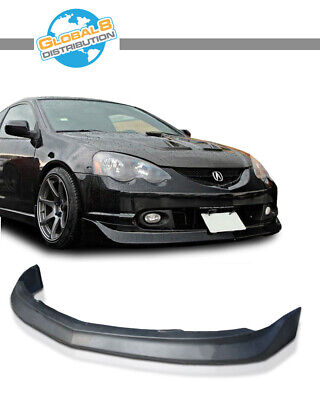 Yellow Fog Lights Fits Acura RSX Front Bumper Lip Poly-Urethane PU Material