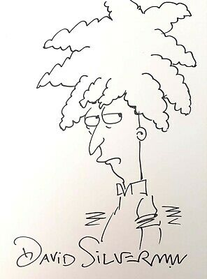 Sideshow Bob by David Silverman - The Simpsons - Signed Sketch / Original Art