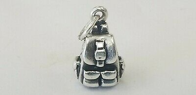 Retired James Avery Sterling Silver 3D Backpack  Charm