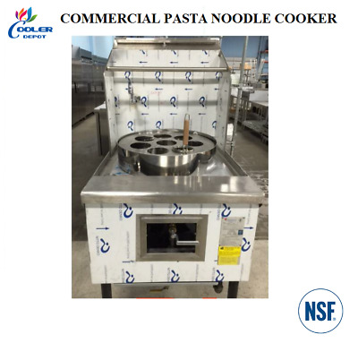 NEW 8 Hole Commercial Pasta Noodle Cooker for Restaurant Dining NSF Approved