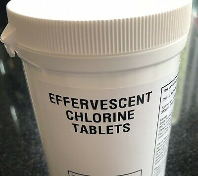 6 X 250 Professional Chlorine Bleach Disinfectant Tablets 1.1g Tablets