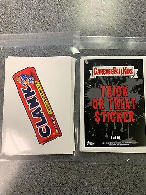 2019 Garbage Pail Kids Revenge Of Oh The Horror-Ible Trick Treat Wacky Packages