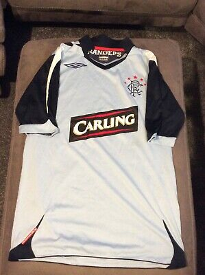Retro Rangers FC Shirt 2006/2007 (Small)