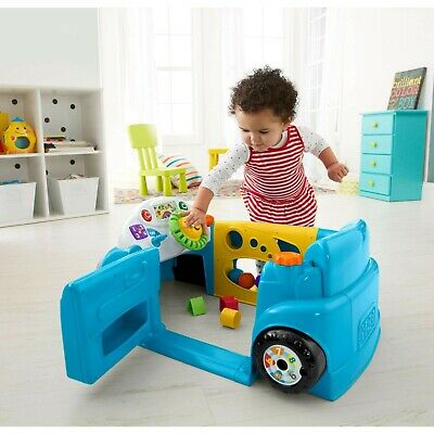 New Educational Car Toys Toddlers Learning Boy Girl Gift Smart Stages Crawl Blue