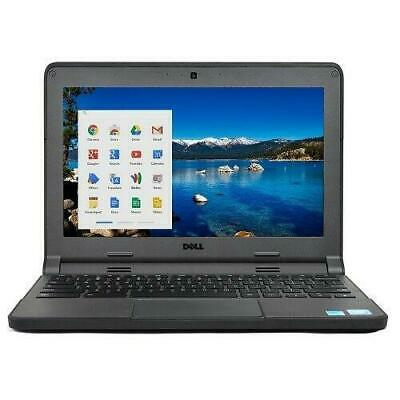 "Dell Chromebook 3120 11.6"" Intel Celeron N2840 2.16GHz 4GB RAM 16GB SSD"