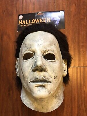 🎃THE CURSE OF MICHAEL MYERS Trick or Treat Studios Latex Deluxe Mask🎃
