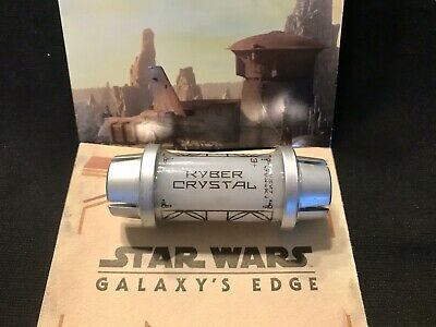 White Kyber Crystal From Disney Star Wars Galaxy's Edge