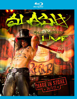 Slash Featuring Myles Kennedy: Live - Made in Stoke 24/ (Blu-ray Used Very Good)