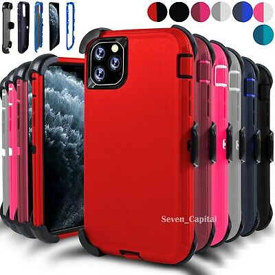 For iPhone 11 11 Pro Max Case Cover w/ Screen & Belt Clip Fits Otterbox Defender