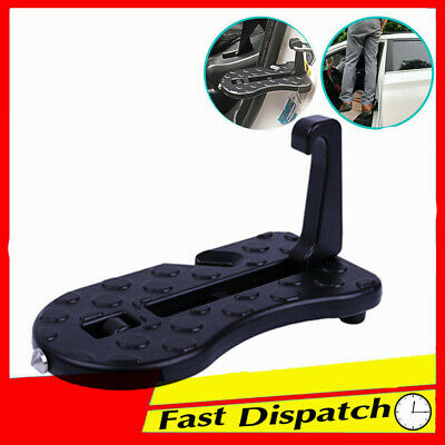 Car Latch Door Hook Ladder for SUV Truck Portable Folding Foot Pedal to Roof Top
