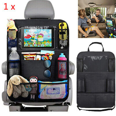 1X Car Seat Back Protector Cover For Children Baby Kick Mat Protect Storage Bag