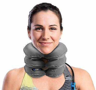 Cervical Neck Traction Device and Collar Brace by BRANFIT, Inflatable and