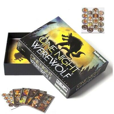 HOT! One Night Ultimate Werewolf - Board Game & Sealed Gifts Toys Brand New