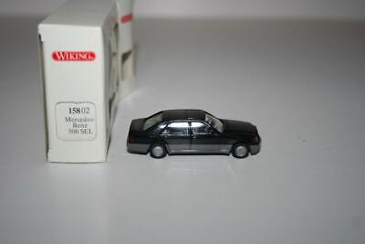 Wiking 1:87: 15802 Mercedes-Benz MB 500 SEL, OVP, WKMB2