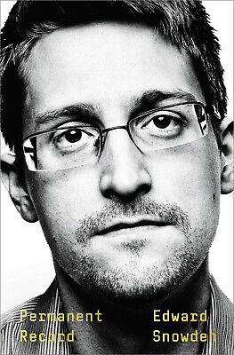 Permanent Record by Edward Snowden (2019, Hardcover)