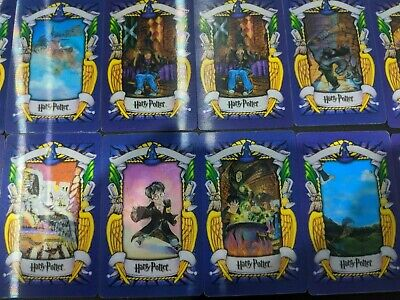 21 x Unique Harry Potter Chocolate frog cards set