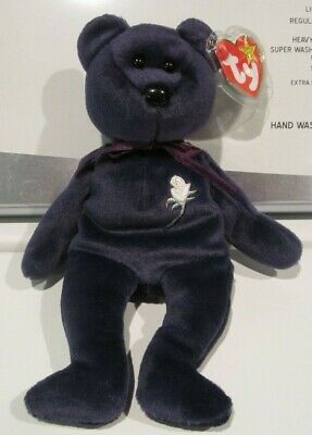 Rare Ty Mint 1st Edition Princess Diana 1997 Retired Beanie Baby