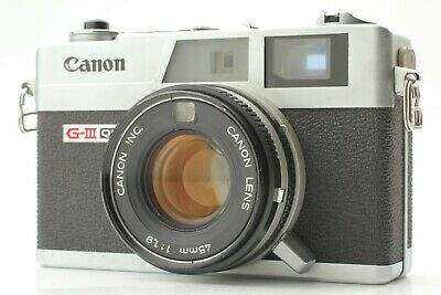 【EXC+++++】 Canon Canonet QL19 G-III 35mm Manual Focus MF Film Camera Japan 1921
