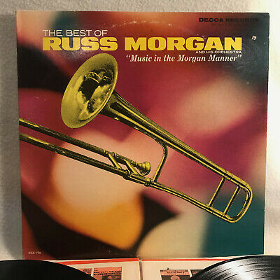 RUSS MORGAN, The Best Of (Decca DL 4888) EX 2LP - Big Band/Swing - 1972
