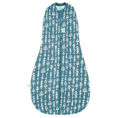 ergoPouch Cocoon Swaddle Bag 0.2 tog Midnight Arrows 2 Sizes