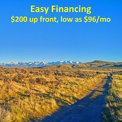 2.18 Acre Bargain!! Elko Nevada Land Humboldt River Ranchos Near Idaho Utah