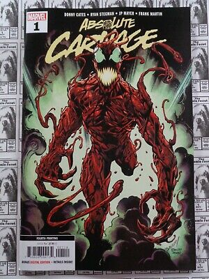 Absolute Carnage (2019) Marvel - #1, 4th Print Variant, Cates/Stegman, NM
