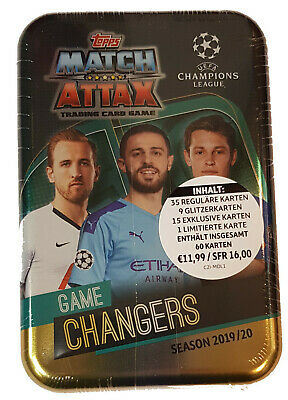 Topps Match Attax Champions League 2019/2020 Tin Game Changer Limited