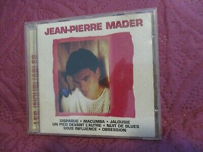 """RARE! CD """"JEAN-PIERRE MADER : COLLECTION LES INOUBLIABLES"""" best of"""