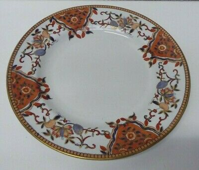 Antique Victorian Stone China Plate  Hand Painted Davenport Longport Stafford