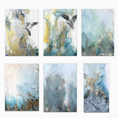 Nordic Abstract Painting Canvas Poster Unframed Picture Home Wall Art Decor Gift