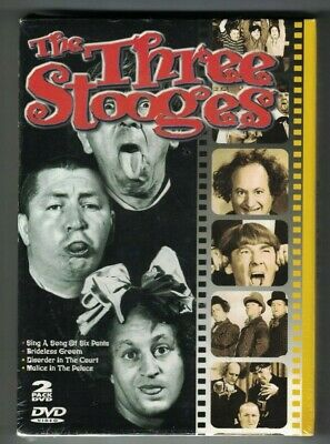 The Three Stooges - Disorder in the Court/Malice in the Palace/Brideless...