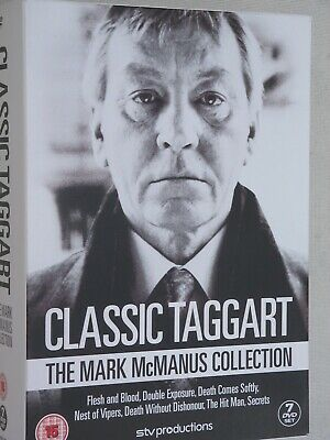 CLASSIC TAGGART - THE MARK McMANUS COLLECTION - DVD BOXED SET
