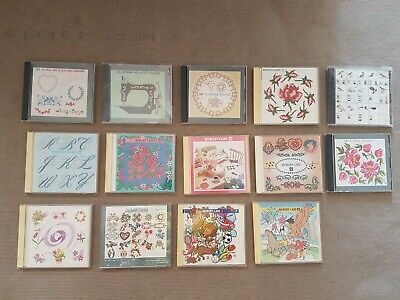 Janome Embroidery Memory Craft 9000 Cards & Hoops