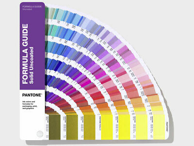 PANTONE Formula Guide Solid Uncoated Shows 2161 colours. Latest 2019 version.