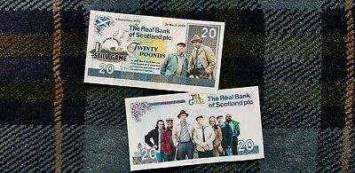 "Still Game ! Special Edition ""Final Farewell "" Novelty Still Game Note"