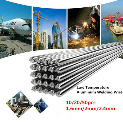Easy Aluminum Welding Rods Wire Melting Low Temperature ---- 10/20/50PCS Silver
