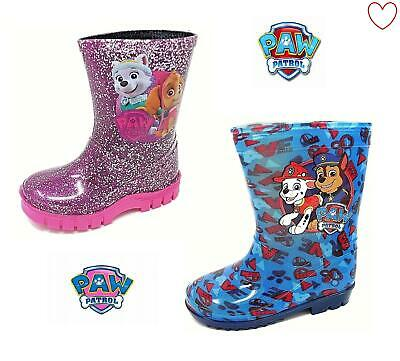 Girls Kids Boys Wellies Paw Patrol Wellingtons Boots